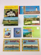 Vintage Postcards Canada Cabot Trail Quebec Rockies Wildlife Nova Scotia LOT
