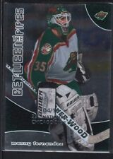MANNY FERNANDEZ 2001/02 BAP BETWEEN THE PIPES SPORTSFEST EMBOSSED SP #04/10