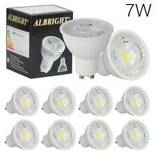 24x 7W GU10 LED Bulbs Equals 50-60W Halogen 240V COB Spotlight Warm White Light