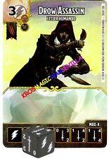 030 DROW ASSASSIN Lesser Humanoid -Common- BATTLE FOR FAERUN - D&D Dice Masters