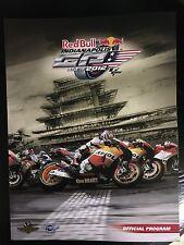2012 Red Bull Indianapolis Grand Prix Program (MotoGP)