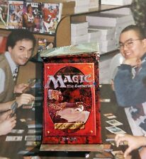 Magic MTG 4th Edition Sealed Booster Pack Japanese Hard to Find