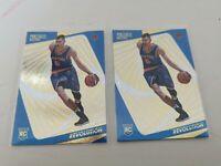 Kristaps Porzingis Rookie Card 2015-16 Panini Revolution 133 RC Knicks Mavs 2lot