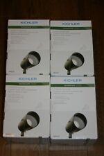 4X Kichler 400 Lumen Low Voltage Hardwired LED Landscape Flood Light 28312