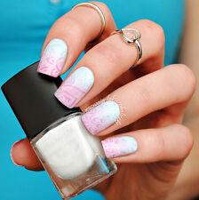 6ml Weiß Born Pretty Stempellack Nagellack Nail Art Stamping Polish