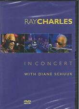 DVD - RAY CHARLES IN CONCERT with DIANE SCHUUR NW