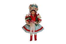 A vintage doll Carnival dress / crown