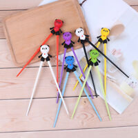 1 Pair kids children training chopsticks silicone panda helper learning gift`toy