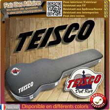 sticker autocollant TEISCO Del rey Guitare étuis décoration decal Case guitare