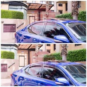 For Lexus IS250 IS350 2006-2012 XE20 Slimline Window Visors/Weathershields (4PS)