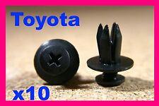 For TOYOTA 10 interior door card trim fascia panel lining fastener clip