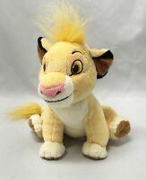"Stuffed Plush Animal Lion King Sitting Baby Simba Cub Disney Store 6"""
