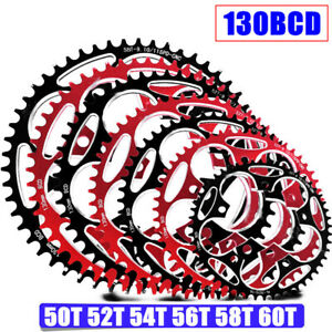 Road Bicycle Narrow Wide 50T - 60T 130BCD Crankset Chainring Plate Chainwheels