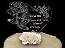 Personalizzata Nuziale l'onorevole & Mrs buona fortuna regalo / LUCKY BOMBONIERA CAKE TOPPER