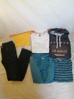 LOT de 6 vêtements fille 14ans tee shirt et pull marque WE jean's Tape à l'œil