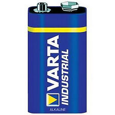 5x Varta Industrial Alkaline 9V Block Batterie Alkaline 4022 6LR61