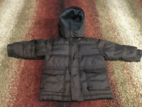 Baby Gap Boy Brown 3 Years Old Warmest Down Coat Jacket WARM!