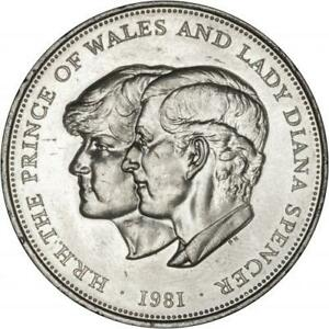 1981 Royal Wedding Coin - HRH The Prince of Wales & Lady Princess Diana Spencer
