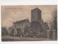 Holy Trinity Church Dartford Kent Vintage Postcard 488b