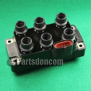 IGNITION COIL PACK FITS FORD COUGAR MC LCBC 2.5L 6 CYL 99-00 F509 919F-12029-AA