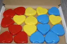 Mini Paint Sets Heart Shaped X 18 Loot Party Favour Pinata Bag Fillers Free Post