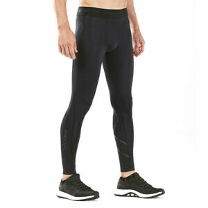 2XU 2020 MCS Cross Training Mens Compression Tights - Black-Nero
