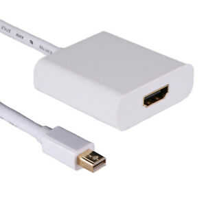 20cm ACTIVE Mini Displayport Male 1.2 to HDMI 1.4b 4K x 2K @ 60Hz White Adapter