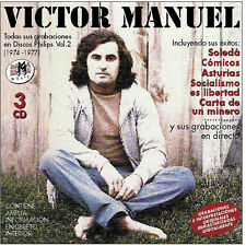 VICTOR MANUEL-TODAS SUS GRABACIONES EN DISCOS PHILIPS (1970-1974) Vol.2-CD