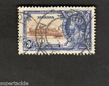1935 Nigeria SC #36  Θ used Postage Revenue stamp