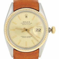Rolex Oyster Perpetual Datejust Men's Watch - Stainless 18k Gold 2Yr. Wnty 16013