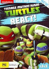 Teenage Mutant Ninja Turtles: Season 3 Volume 3 - React DVD NEW