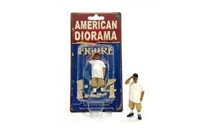 "Lowriders II 1:24 Scale American Diorama Figurine Figure Male Guy w Cap 3"""