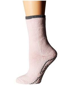 Falke Women's 186704 Sakura Pink Crew Cut Socks Shoes Size 35-38 W 5-7.5