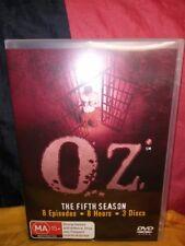 Oz : Season 5 (DVD, 2008, 3-Disc Set) The Fifth Season