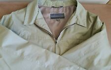 Men's Green Windbreaker Jacket Rain Proof Soft Shell Size XXL Naturalife