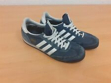 ADIDAS DRAGON - Low Top Suede Blue Trainers - Men's Shoes - UK Size 8 - 504