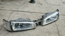 JDM Subaru Impreza GC8 GF8 WRX Front CRYSTAL Headlights Head Lights Corner Lamps