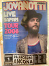 Jovanotti Live Safari Tour poster locandina 70*100 cm 2008 originale