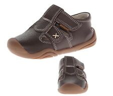 pediped Boy's Grip Martin Fisherman Toddler Sandal Chocolate Brown Sz 7 ~ New!!