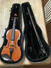 """A. Schroetter Violin Model P-V260-3 14"""" With Hard Case And Bow"""