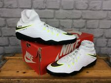 NIKE MENS UK 8 EU 42.5 WHITE HYPERVENOM PHANTOM 3 DYNAMIC FIT FG FOOTBALL BOOTS