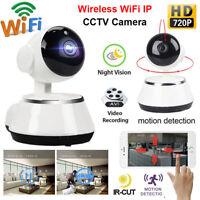Wireless IP Camera WIFI 720P CCTV IR Night Vision Home Security Surveillance