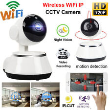 720P IP Camera WiFi Network 2-Way Audio Home Security Night Vision CCTV/Card Lot