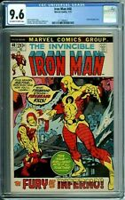 IRON MAN 48 CGC 9.6 KANE cover FIREBRAND app 7/72 Marvel Comics NEW CGC CASE
