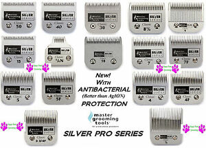 Master Grooming Tools ANTIMICROBIAL Blade*Fit Oster A5,Many Wahl,Andis Clipper