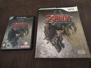 Nintendo GameCube - The Legend of Zelda Twilight Princess + Lösungsbuch