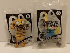 ADVENTURE TIME MCDONALD'S HAPPY MEAL  2014 - FINN & YAKE