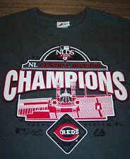CINCINNATI REDS 2010 Central CHAMPIONS MLB BASEBALL T-Shirt YOUTH LARGE NEW