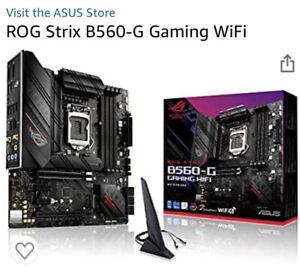 ASUS S1200 MicroATX ROG STRIX B560-G GAMING WIFI DDR4 Motherboard