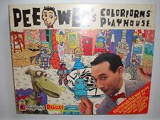 Pee Wee's Colorforms Playhouse Deluxe Playset 1987 SEALED Pee Wee Herman L@@K!